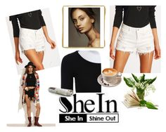 """""""SheIn"""" by munevera-berbic ❤ liked on Polyvore featuring shein"""