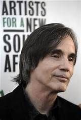 Singer Jackson Browne arrives for Artists for a New South Africa's ...