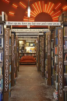 Barter Books - Alnwick, England. Used to be a train station.