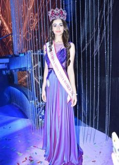 Aditi Arya Femina Miss India World 2015