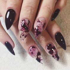 Would you rock these killer blood marble #claws? ❤