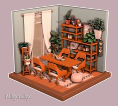 Sims 4 Build, Sims 4 Houses, My Sims, Dollhouses, Instagram Accounts, Content, Check, Room, Furniture