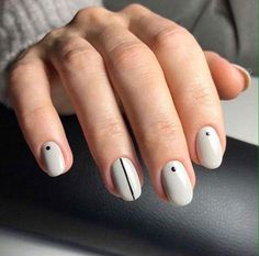 21 – Minimalist Nail Art Designs Art Minimalist 25 Stunning Minimalist N. Line Nail Designs, Orange Nail Designs, Simple Nail Art Designs, Beautiful Nail Designs, Best Nail Art Designs, Simple Art, Simple Nail Arts, Nail Art Stripes, Dot Nail Art