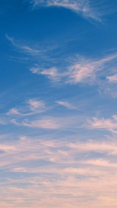Sky Blue Cloud Nature Sunny Summer #iPhone #5s #wallpaper