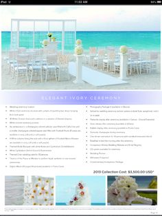 Hard Rock Hotel Punta Cana, DR... Destination wedding!