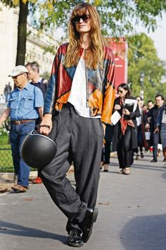 CDM showing us the style she is famous for #paris #frenchstyle #style #fashion