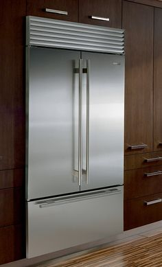 Sub Zero Is The Over And Under French Door Refrigerator Freezer With The  Largest Interior Capacity Of Any Counter Depth French Door Fridge Freezer  On The ...