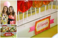 "I absolutely adore this baby shower theme that has been ""popping"" up around the party world! ""She's About To Pop"" is perfect for a baby shower theme with a little whimsy! Designed by Jennifer Faught of Something Detailed, she was inspired by May 2011 Martha Stewart Living magazine's cover story on poppies. We loved that cover too! The…   { read more }"