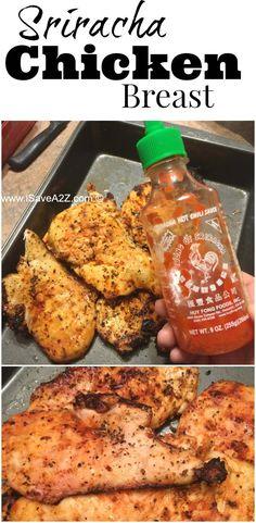 Sriracha Chicken Breast Recipes - iSaveA2Z.com