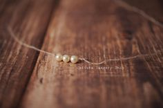 Mohair tie pearl tie back newborn prop by CatturaImageryShop