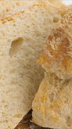 Artisan Bread Recipes, Easy Bread Recipes, Homemade White Bread, Bread Winners, Knead Bread Recipe, Delicious Desserts, Yummy Food, Pizza, Fun Baking Recipes