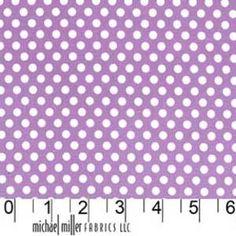 Michael Miller House Designer - Dots - Kiss Dot in Purple