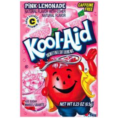 I don't care how childish you think this is, I will always love Kool-Aid! And people tend to forget how affordable it is. What's the use going out and buying bottles of water and sodas practically every week? It's just $$$ disappearing from your wallet. Each one of these babies can make a pitcher, that can sit in your fridge for week or so. And at most 5 of these will cost you 1 dollar. That's five weeks of delicious drinks, for 1 dollar! You're welcome.