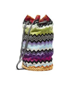 Missoni Home Giacomo Towelling Drawstring Bag Great for the beach! Pattern  Fashion, Luggage Bags d0dd56ac73