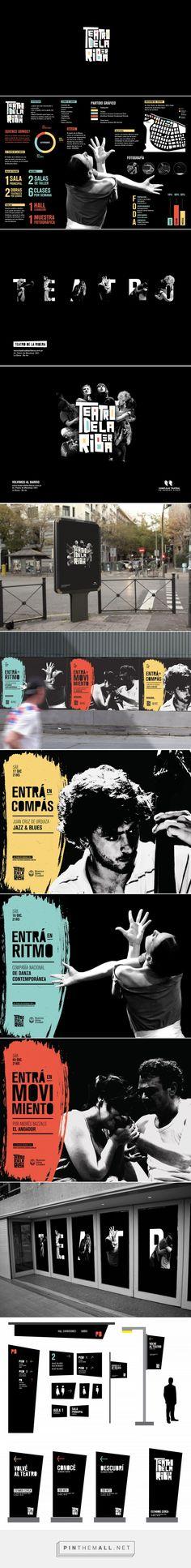 Teatro de la ribera - Branding on Behance - created via https://pinthemall.net