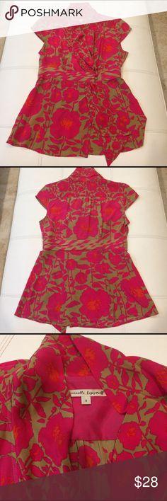 Nanette Lapore Silk Blouse Nanette Lapore Silk Blouse.  Gently worn condition. Nanette Lepore Tops Blouses