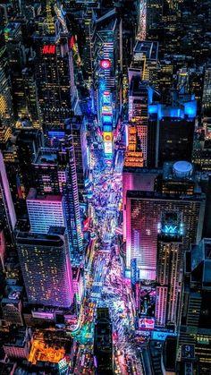 Cyberpunk Aesthetic, Cyberpunk City, Futuristic City, New York Wallpaper, Neon Wallpaper, Scenery Wallpaper, Future Wallpaper, Aesthetic Japan, City Aesthetic