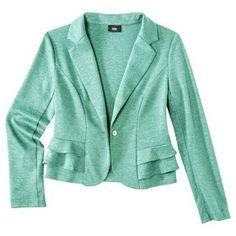 Mossimo® Womens Peplum Ponte Jacket - Assort... : Target Mobile