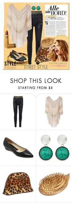 """""""Alle on board"""" by bamra ❤ liked on Polyvore featuring WALL, OTIS BATTERBEE, Celestine and Lipstick Queen"""