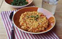 Pumpkin Risotto.... perrrfect for fall!