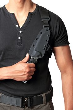 Tactical Knife Harness | Shoulder Harness - Pohlforce USA - Tactical knives for the world's ...