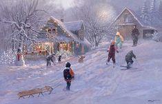 """""""Christmas Time"""" by Lloyd Pretty"""