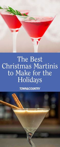 11 Best Christmas Martinis - Holiday Martini Recipes for Christmas Parties Christmas Drinks Alcohol, Christmas Martini, Christmas Cocktails, Holiday Cocktails, Summer Cocktails, Drinks Alcohol Recipes, Cocktail Recipes, Drink Recipes, Best Martini Recipes