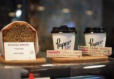 Great takeaway breakfast options. Espresso Bar by Paper Cup.