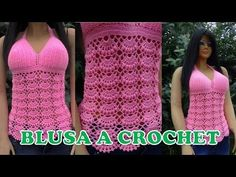 PUNTADA PARA TEJER CHALECO, BLUSA, Y CHAL - YouTube