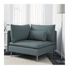 SÖDERHAMN Corner section, Finnsta turquoise - Finnsta turquoise - IKEA $200 bedroom corner. 39x39