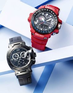 A sporty dad deserves a sleek new watch—the Tissot Swiss Chronograph T-Race timepiece is a moto-racing inspired piece of tech.