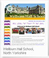 Welburn Hall School, North Yorkshire -  School Jotter Website