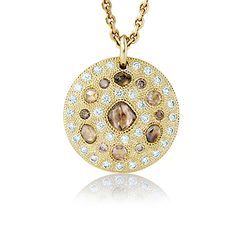 De Beers Phenomena Sunset Frost Necklace