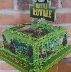 Fortnite cake, fortnite battle royale cake, fortnight cake ☺