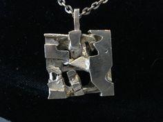Liisa Vitali Finland Neue Sachlichkeit Top Anhänger Kette Silber 60ER Design | eBay Silver Jewelry, Ebay, Drop Earrings, Chain, Pendant, Modern, Design, Social Realism, Silver