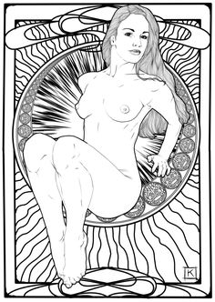 Erotic Coloring Pages By Kramer
