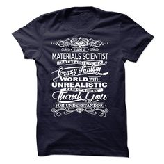 I Am A Materials Scientist T-Shirts, Hoodies. Check Price Now ==►…