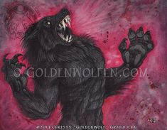 """Blood Rage"" by Christy ""Goldenwolf"" Grandjean www.goldenwolfen.com"