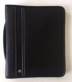 Allant The Consultant Collection Zip Around Binder Folio Presentation Case  | eBay