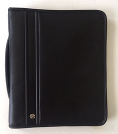 Allant The Consultant Collection Zip Around Binder Folio Presentation Case    eBay