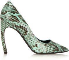 Nicholas Kirkwood Python pumps on shopstyle.com