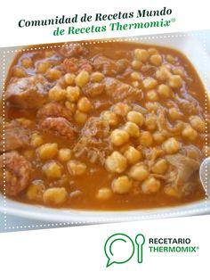 GARBANZOS CON CALLOS por Jacaranda. La receta de Thermomix<sup>®</sup> se encuentra en la categoría Potajes y platos de cuchara en www.recetario.es, de Thermomix<sup>®</sup> Chana Masala, Beans, Vegetables, Halloween, Ethnic Recipes, Food, Salads, Gourmet, Stew