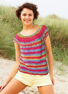 33bcdf8f569 Lucia Tee Pattern 1744. Lucia Tee in Knit ...
