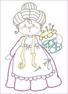 10 Redwork Designs in & Embroidery Transfers, Hand Embroidery Patterns, Applique Patterns, Embroidery Applique, Cross Stitch Embroidery, Machine Embroidery Designs, Quilt Patterns, Stitch Patterns, Sue Sunbonnet