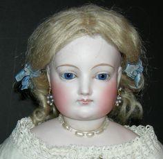 "Beautiful!! - Beautiful!! - Large 22\"" - French Fashion Doll - Original Clothes!! - Antique!!!!"