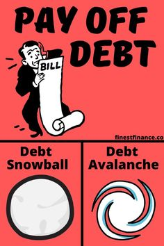 Learn the difference between debt snowball vs. This post will tell you which method is the right one for you. Debt Repayment, Debt Payoff, Money Budget, Money Tips, Debt Snowball, Get Out Of Debt, Managing Your Money, Budgeting Finances, Do You Know What