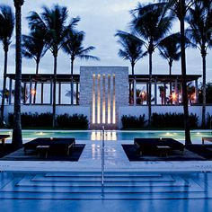 The Setai Hôtel, Miami - Pool view. Photography copyrights: The Setai Hôtel. Florida Resorts, Hotels And Resorts, Best Hotels, Miami Florida, Amazing Hotels, Beach Resorts, South Beach, Miami Beach, Miami Pool