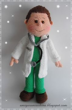 Amigurumi Doktor- Amigurumi Doctor