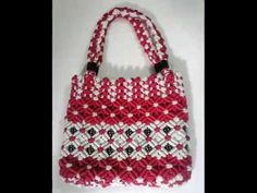 How to make Macrame Bag in professional way | PART 1 - YouTube