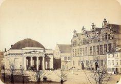 Danzig 1865 Theater am Kohlenmarkt